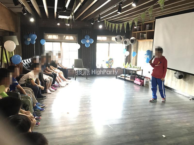 足球主题10周岁生日派对
