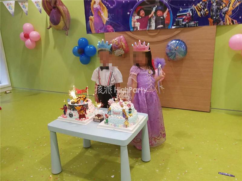 变形金刚与长发公主主题生日派对