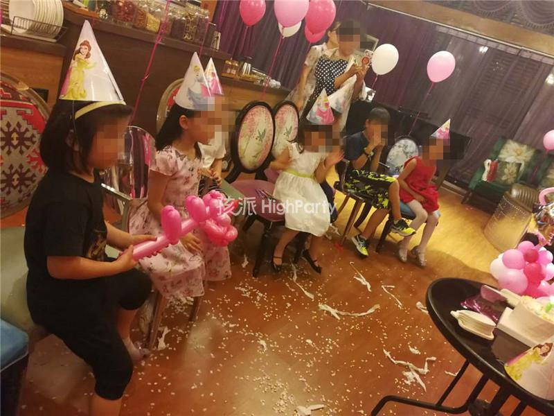迪士尼公主主题生日派对