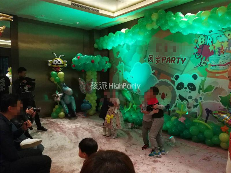 森林主题生日派对