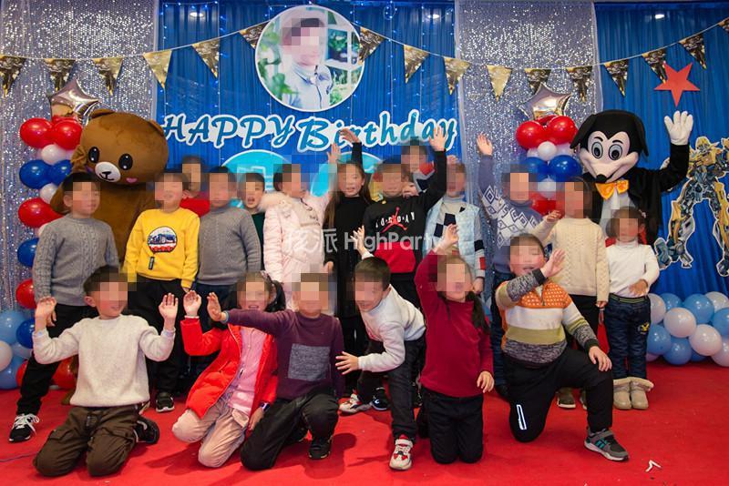 变形金刚主题--十岁生日策划