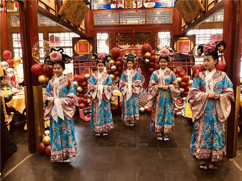 中国风周岁宴
