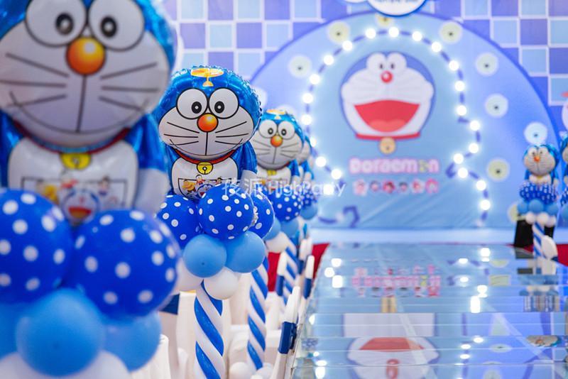 又一场大气的叮当猫主题生日派对策划