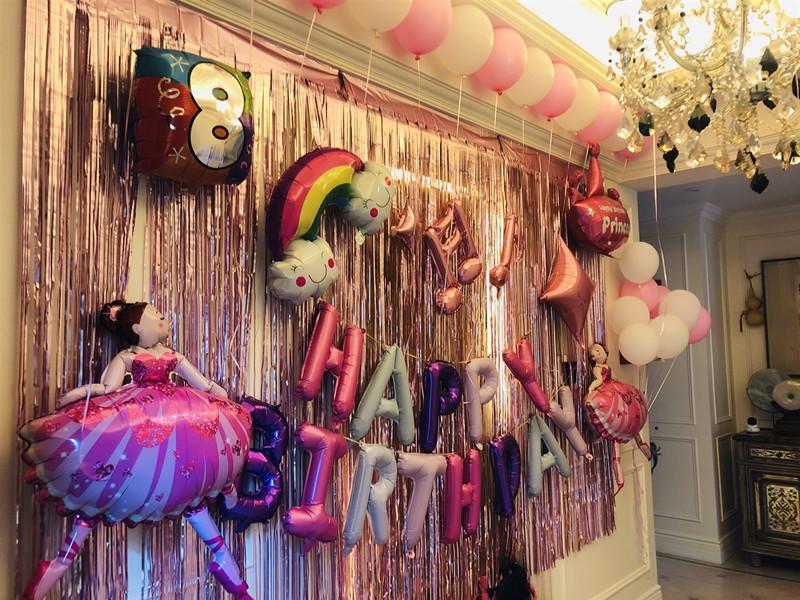 八岁女孩派对