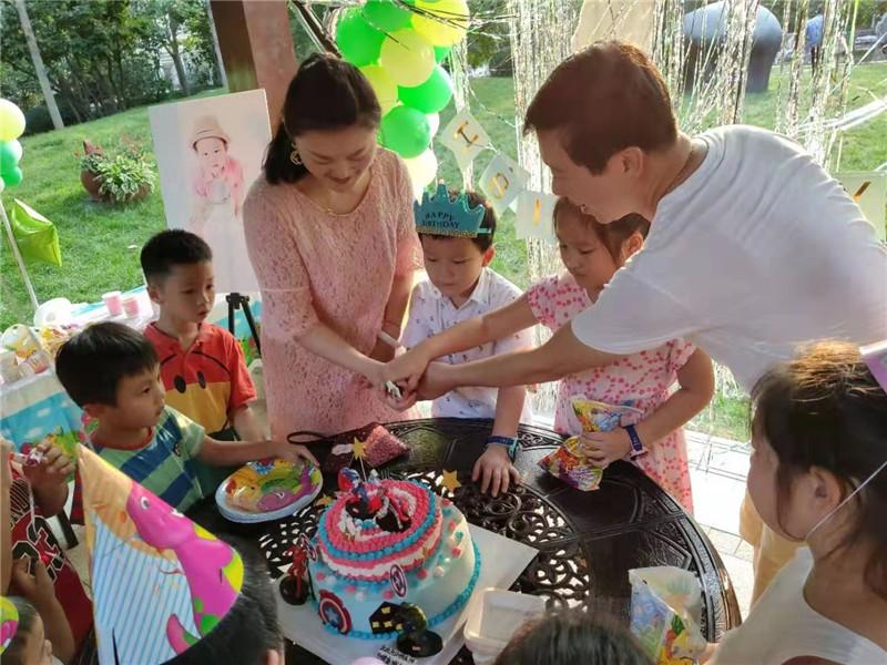 十岁女孩生日派对