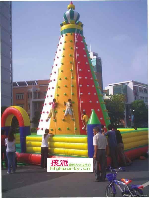 儿童攀岩城堡