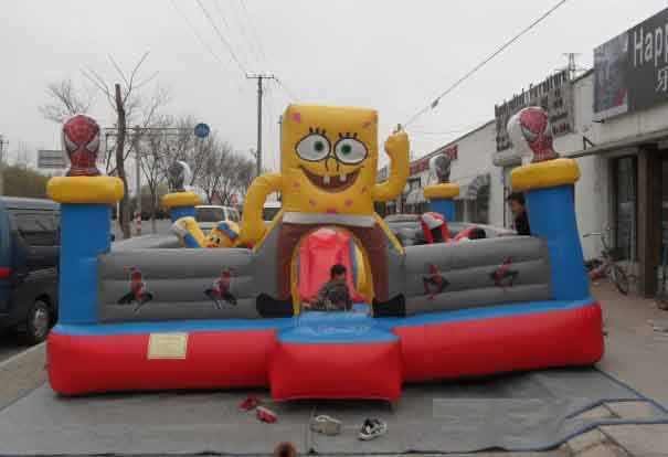 儿童淘气堡游乐设备