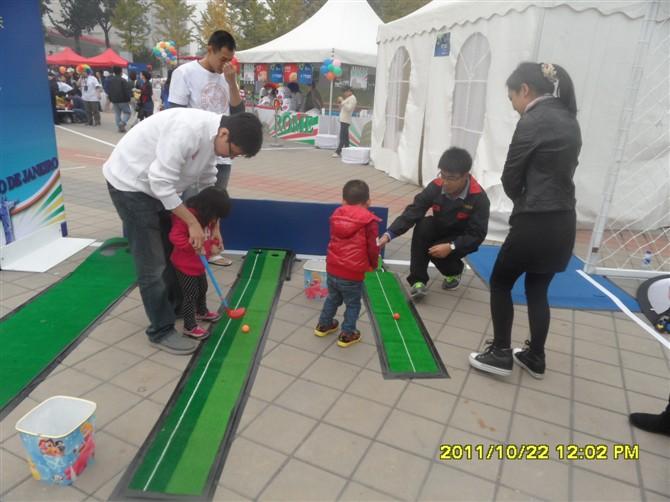 模拟高尔夫球场