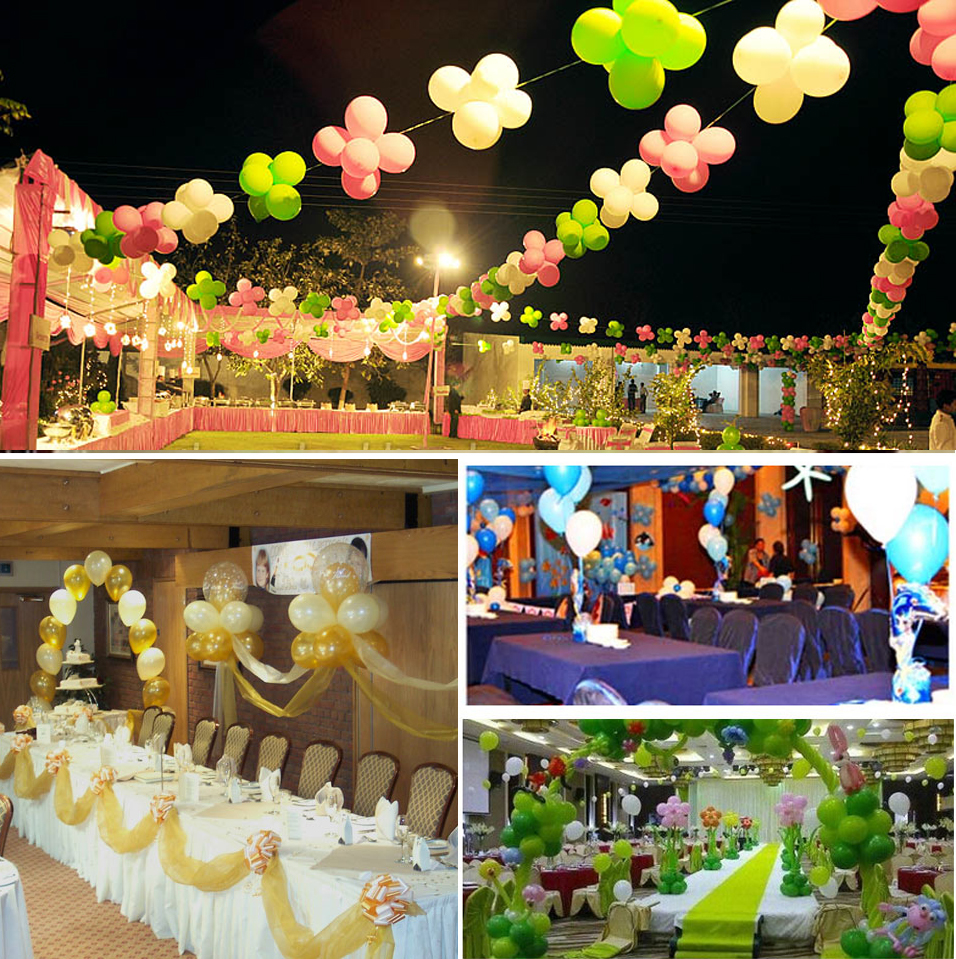 气球装饰结婚_派对气球装饰布置图片-孩派儿童生日派对策划服务公司