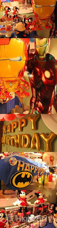 七岁宝贝生日实现钢铁侠英雄梦