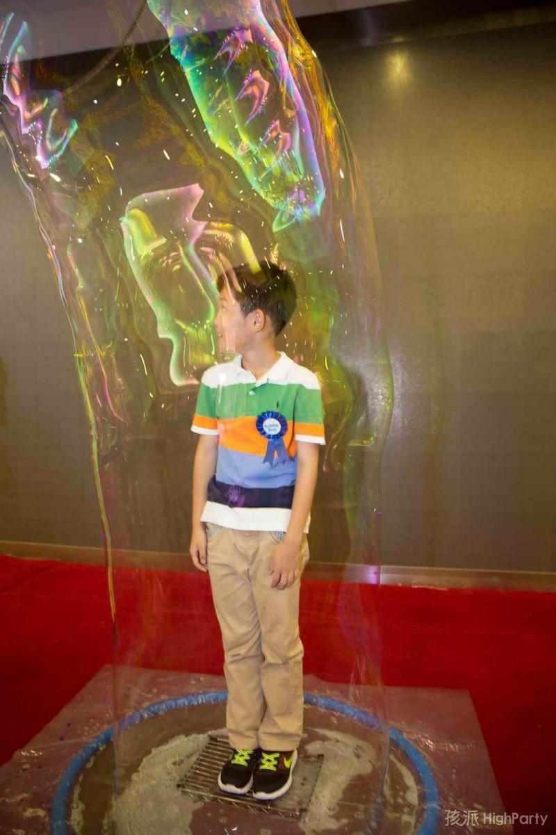 10岁生日趴的泡泡秀