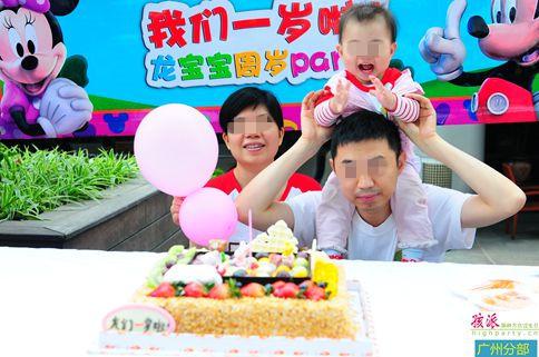 龙宝宝生日party