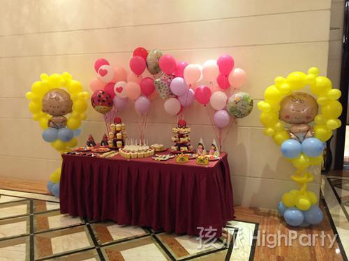 【百日宴】桐乡振石锴宝的生日派对