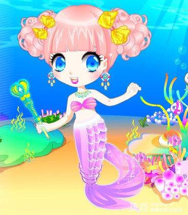 两位公主的美人鱼主题生日会